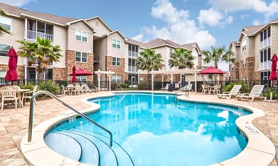 Pool, Crosswinds Apartments, 0