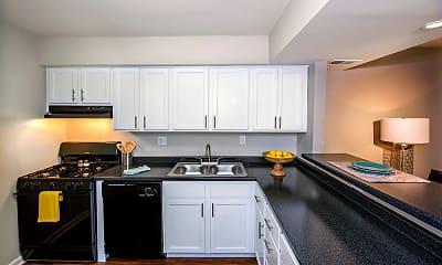 Kitchen, Nineteen North Apartments, 1