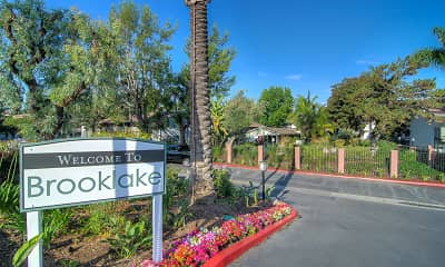 Community Signage, Brooklake Apartments, 2