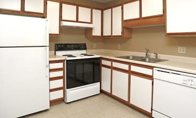 Kitchen, Red Cedar Estates I & II, 1
