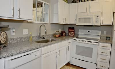 Kitchen, Lakeview Court Apartments, 2