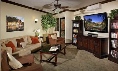 Living Room, Drake Manor, 0
