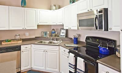 Kitchen, Hearthstone Apartments And Townhomes, 1