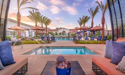 Pool, Montecito Apartments at Carlsbad, 2