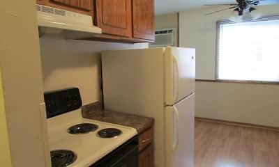 Kitchen, Royal Oaks Apartments, 1