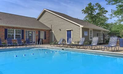 Pool, 860 East Apartments & Townhomes, 1