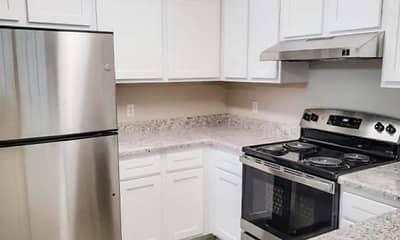 Kitchen, Apple Villa Apartments, 2