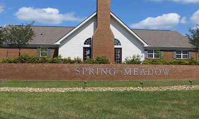 Community Signage, Spring Meadow Apartments, 1