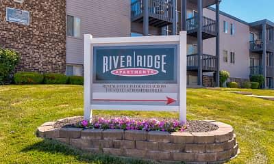Community Signage, River Ridge Apartments, 2