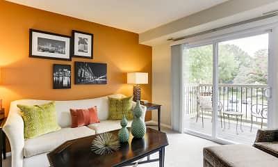 Living Room, Hamilton Springs Apartments, 1