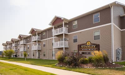 Community Signage, Stanley ND Apartments, 0