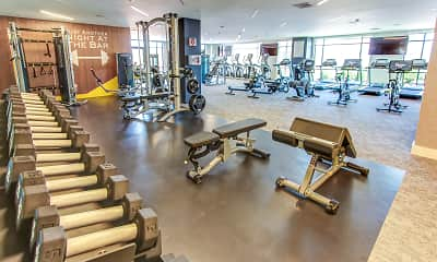 Fitness Weight Room, The Enclave, 2