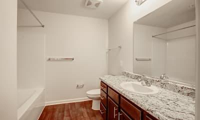 Bathroom, Keswick Apartments I, 2