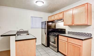 Kitchen, Penthouse Apartments, 0