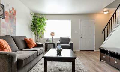 Living Room, Havenwood Townhomes, 0