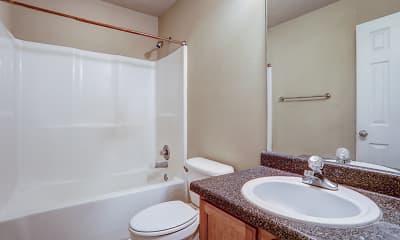 Bathroom, Pine Creek Town Homes, 2