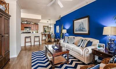 Living Room, Fountain Villas, 0