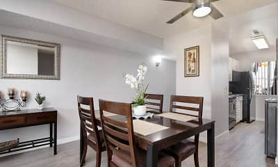 Dining Room, The Fountains At Palmdale, 1