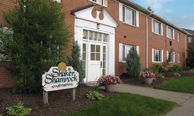 Building, Shaker Shamrock, 0