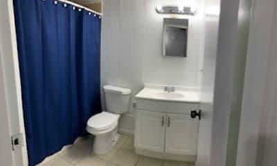 Bathroom, Camino Del Rey Apartments, 2