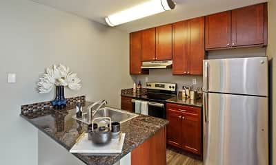Kitchen, Oceanaire, 1