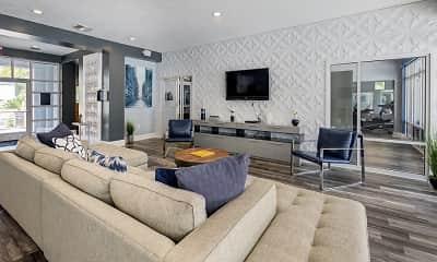 Living Room, The Venetian Student Living, 2