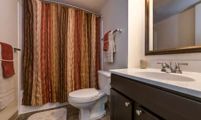 Bathroom, The Apartments at Charles Plaza, 2