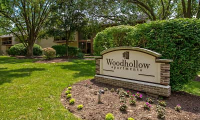 Community Signage, Woodhollow, 2