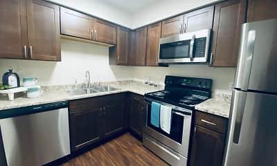Kitchen, Cedarstone/Oakleaf, 0