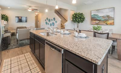 Kitchen, Artisan Living Addison Place, 1
