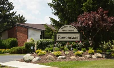 Landscaping, Rowanoake Apartments, 2
