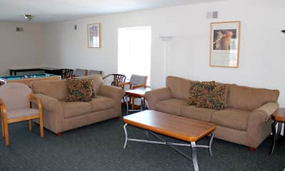 Living Room, Braeburn Village Apartments Of Indianapolis, 2