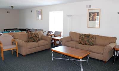 Living Room, Braeburn Village Apartments Of Indianapolis, 2