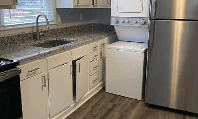 Kitchen, Ponderosa Apartments, 2