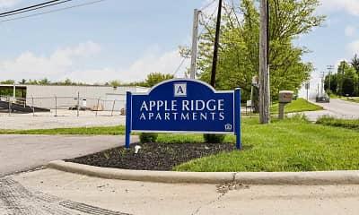 Community Signage, Apple Ridge, 2