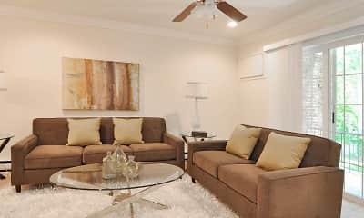 Living Room, Fairfield Estates At Bohemia, 1