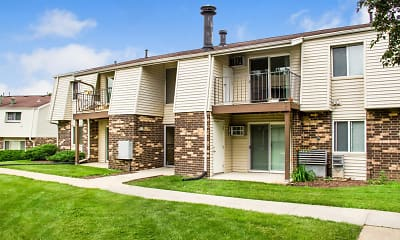 Building, The Pines Apartments & Townhomes, 1