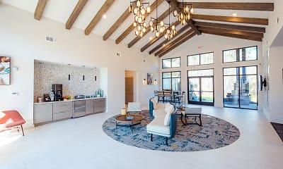 Living Room, Azure Carnes Crossroads, 1