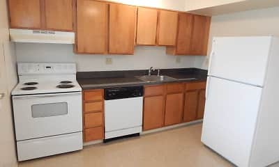Kitchen, Meadow Landing Apartments, 1