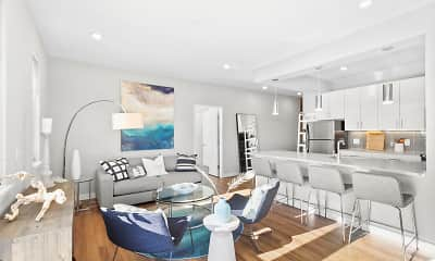 Living Room, The Tides at Arverne by the Sea, 0
