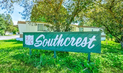 Community Signage, Southcrest Estates, 2
