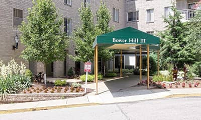 Community Signage, Bower Hill III Apartments, 2