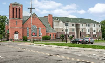 Building, Allegan Senior Residences, 1