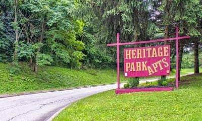 Community Signage, Heritage Park, 1