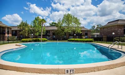 Pool, Arbor Place Apartments, 0