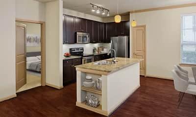 Kitchen, Camden La Frontera Apartments, 1