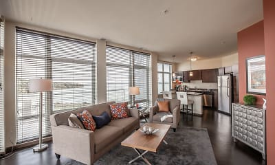 Living Room, Watermark Lofts, 0