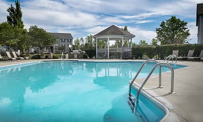 Pool, Parkview Apartments, 2