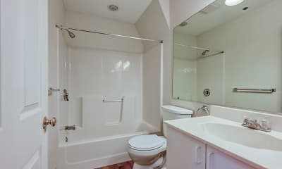 Bathroom, Residences at Tewksbury Commons, 2