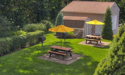 Patio / Deck, Chateau Perry Apartments, 1